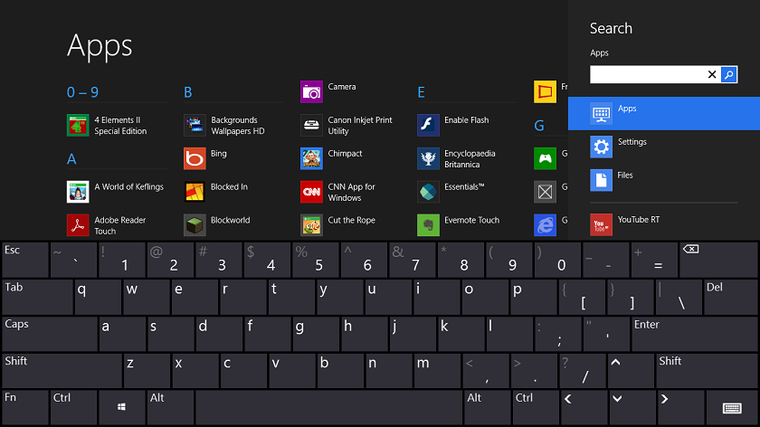 windows tricks keyboard