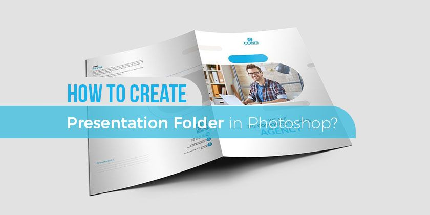 how to create presentation folder template in photoshop? - technig, Presentation templates