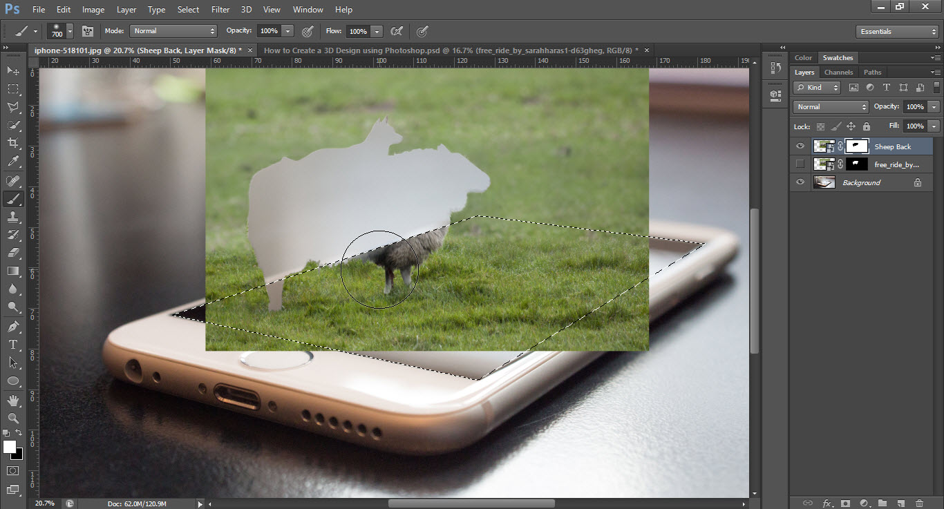 Create Manipulation 3D with Photoshop